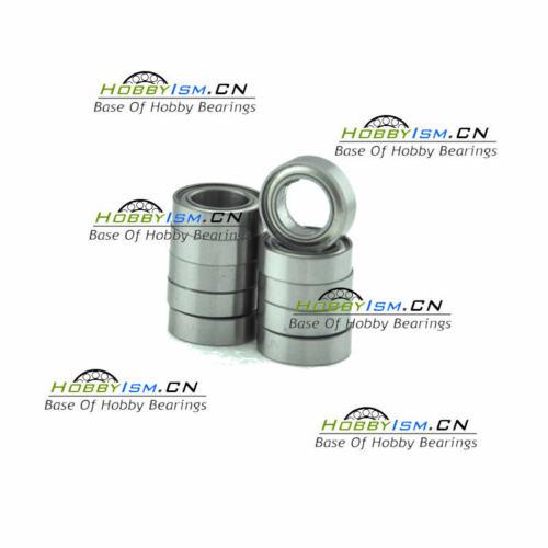 10pcs 6x13x5 mm Stainless Metal Shield Ball Bearings ABEC-7 SMR686 ZZ A7 AF2
