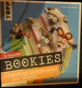 Topp 8127 Buch Bookies Tierische Lesezeichen Zum Häkeln Handarbeiten