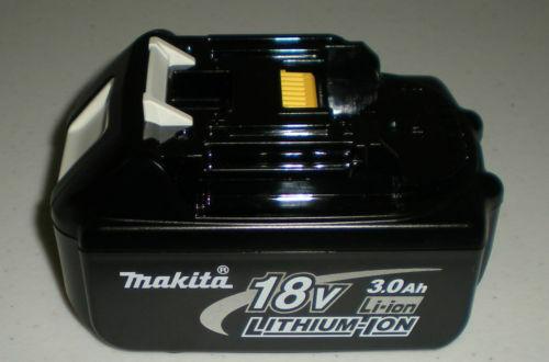 + Makita Genuine 18 V 3.0Ah Li-Ion batterie LXT BL1830 NEUF pas en pack