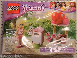 LEGO-FRIENDS-30105-STEPHANIE-039-S-MAILBOX-NEW-SEALED-2012-RETIRED-PROMO