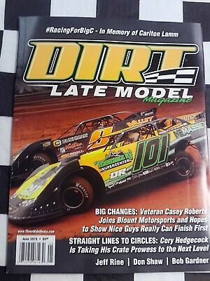 Dirt Late Model Magazine June 2018 Racing Mag Casey Roberts Don Shaw