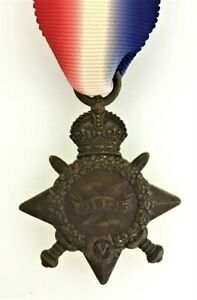 Gt-Britain-SUPERIOR-QUALITY-Solid-Bronze-British-1914-1915-Star-Medal-Full-size
