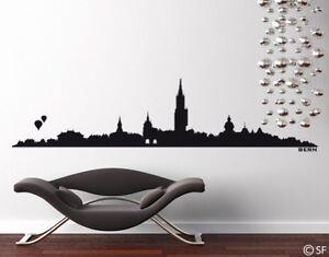Das Bild Wird Geladen Wandtattoo Wandaufkleber Bern Skyline Uss032 Wohnzimmer Arbeitszimmer Schweiz