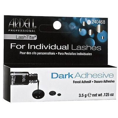 Ardell LASHTITE Adhesive INDIVIDUAL Eyelashes AUTHENTIC Flares Glue DARK 3.5