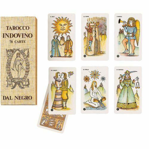 Tarocco Indovino Dal Negro DNG43002 Carte Formato Tarocco