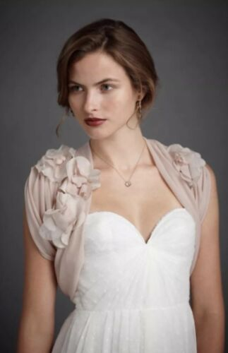 NEW BHLDN There Is Only You And Me Wedding Bolero Topper Size S//M Small Medium