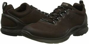 ECCO-Men-039-s-Shoes-BIOM-Fjuel-Perf-Suede-Low-Top-Lace-Up-Fashion-Mocha-Size-10-0
