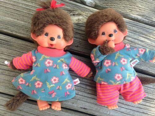 cuciture Abbigliamento per Monchichi MIS 20 MONCHHICHI gemelli abbigliamento fiorellini