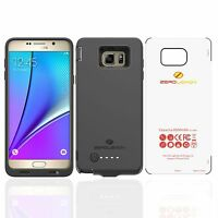 Galaxy Note 5 Battery Case Zerolemon Galaxy Note 5 8500mah Extended Battery C...