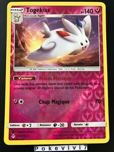 Carte-Pokemon-TOGEKISS-138-214-HOLO-Reverse-Soleil-et-Lune-10-SL10-FR-NEUF