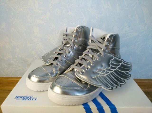 Adidas JS Wings Jeremy Scott Metal Silver Unisex S77798 Free Shipping