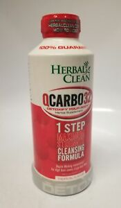 Details about Herbal Clean QCarbo32 Tropical Flavor, 32 fl oz / 948 ml