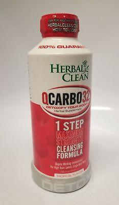 Herbal Clean QCarbo32 Tropical Flavor, 32 fl oz / 948 ml | eBay