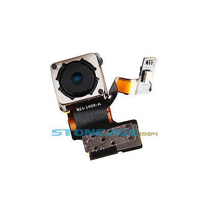 New Rear Back Camera Replacement Lens Flex Cable Flash for Apple iPhone 5 5G