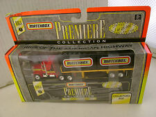 1996 MATCHBOX RIGS SERIES 1 PREMIERE KENWORTH AERODYNE TRUCK & TRAILER NEW IN BO