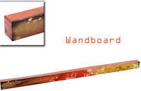 Wandboard Wandregal rot/gold 125 cm (923155) Wanddeko Wandobjekt