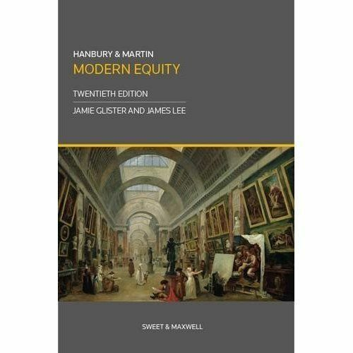 Hanbury & Martin: Modern Equity by Sweet & Maxwell Ltd (Paperback, 2015)
