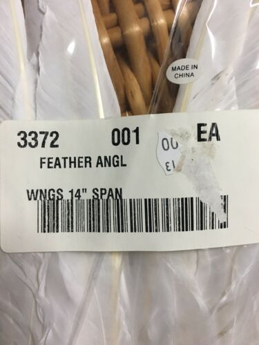 14 Inches Still In Plastic-Free Shipping! Angel Wings