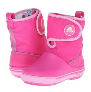 New Kids Girls Crocs Crocband II.5 Gust