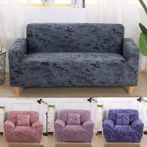 Details about Stretch Printing 1/2/3 Seater Sofa Covers Elasticity  Protector Couch Slipcover