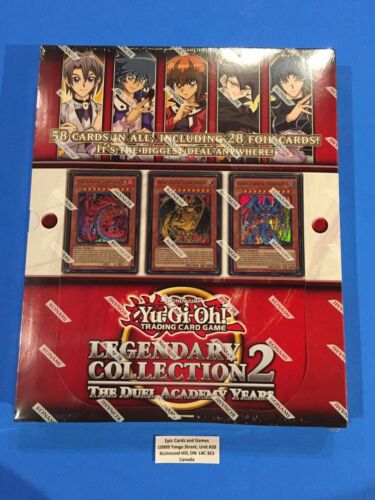 LC02 LEGENDARY COLLECTION 2 Yu-Gi-Oh Sealed New! - Sacred Beast Set
