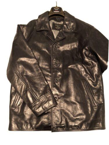 leather jacket men large