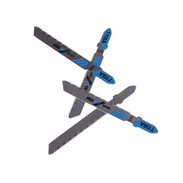 5Pcs Jig Saw Blades Wood Metal Fast Cutting Reciprocating Saw Blade T118BB JG