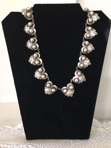 Vintage 1940-50s  Mexican Sterling Silver Vintage