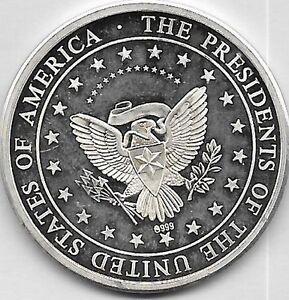 Appris Ulysses Grant 1869-1877 Ag 0.999 18 éme Président Des Etats Unis ArôMe Parfumé