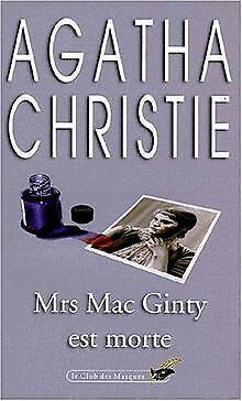 Mrs. MacGinty est morte von Agatha Christie   Buch   Zustand gut