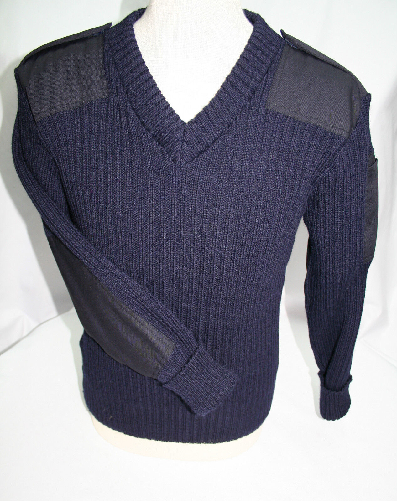WOOL NATO / ARMY JUMPER. WOOLLY PULLY. OUTDOOR,UNIFORM,SECURITY,MILITARY,  09047
