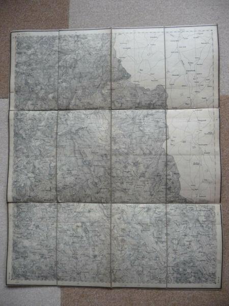 Alte Landkarten, Eslarn, Winklarn, Schönsee, Stadlern, Tiefenbach, Treffelstein