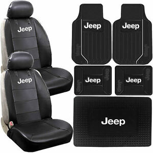 Strange Details About 9Pc Sideless Seat Covers Front Rear Cargo Trunk Rubber Mats Universal For Jeep Andrewgaddart Wooden Chair Designs For Living Room Andrewgaddartcom