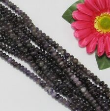 2 Strang natur Amethyst 5x8mm Linsen Lose Perlen