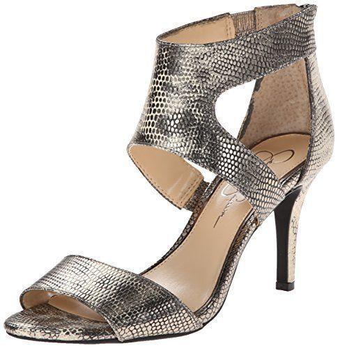 ecco l'ultimo Donna    Jessica Simpson MEKOS Cutout Sandals Gunmetal Dimensione 11 M   41  Sito ufficiale