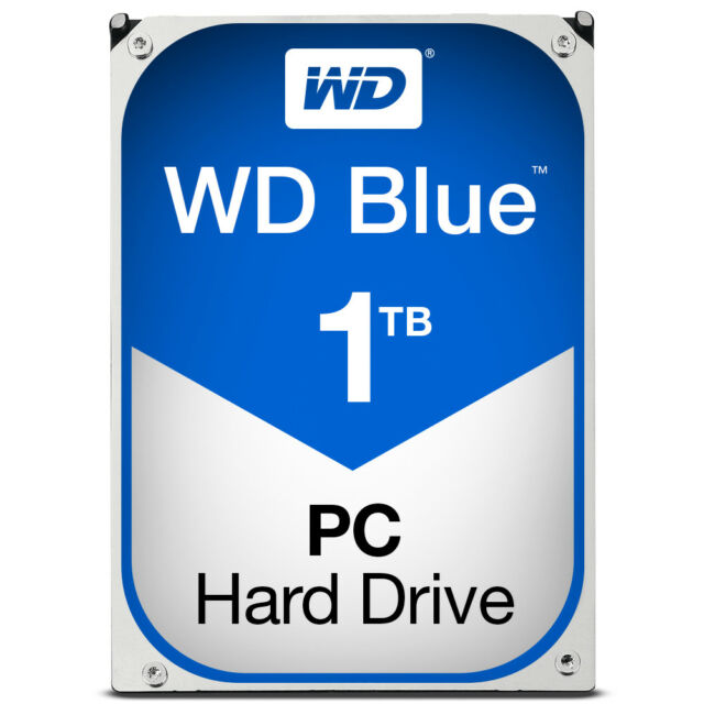 WESTERN DIGITAL HARD DISK 3,5 1TB SATA 3 64MB WD10EZRZ CAVIAR BLUE