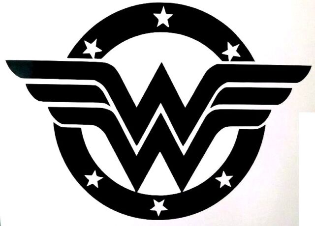 Wonder Woman DCEU Movie Logo Decal//Sticker