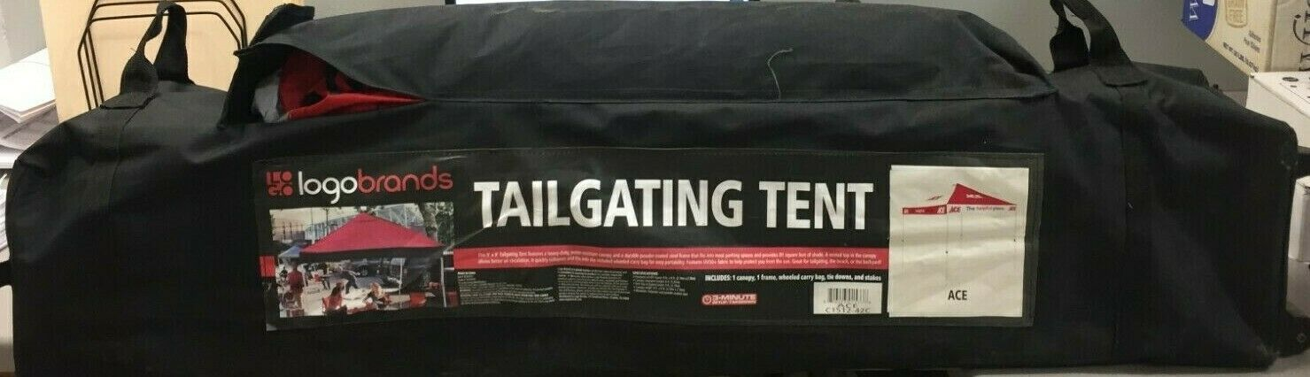 Logo Brands C1512-42C Polyester Square Canopy 9 ft. W x 9 ft. L