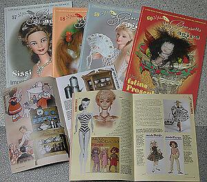 lotto-riviste-LA-BACCHETTA-MAGICA-case-di-bambole-doll-teddy-bear-Barbie-dolls-3