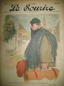 LE-SOURIRE-JOURNAL-HUMORISTIQUE-N-90-DESSINS-HUARD-LOURDEY-DESTEZ-VILLEMOT-1901