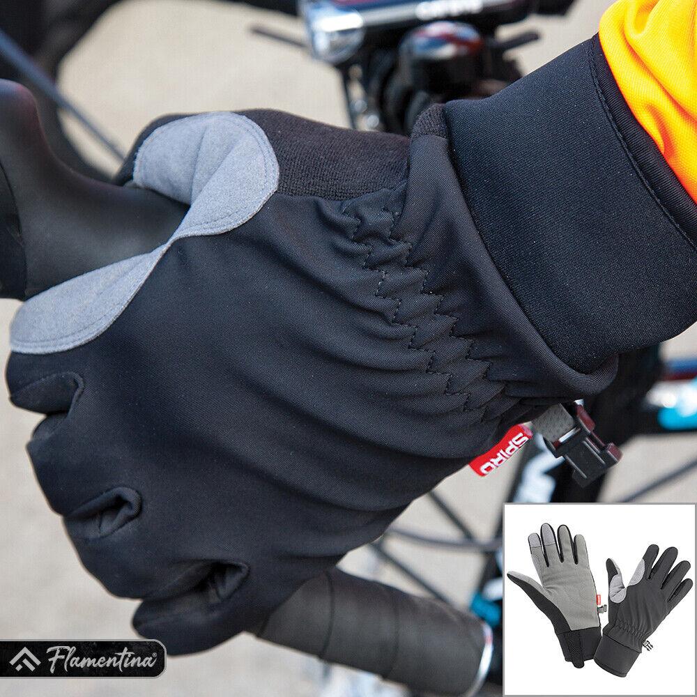 Spiro Long Padded Palm Gloves Warm Lightweight Bike Cycling Riding Sports Mitten
