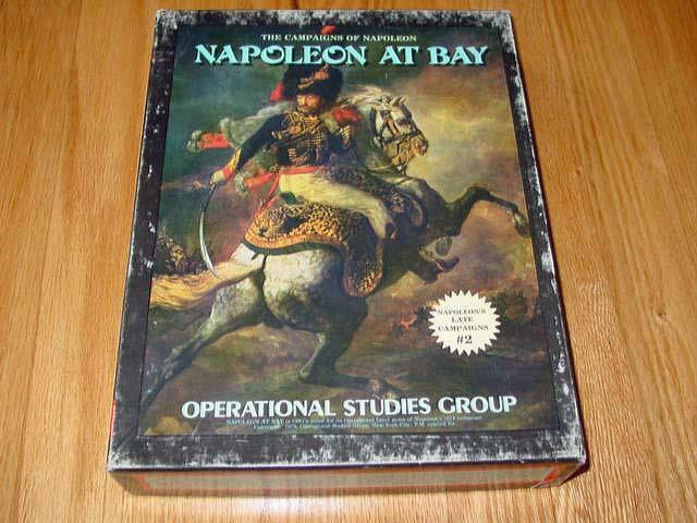 OSG 1979 - Napoleon at Bay - Napoleons Late Campaigns (UNPUNCHED) - RARE