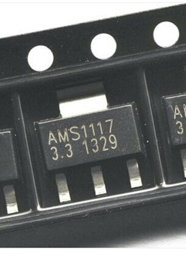 50PCS AMS1117-3.3V Power Regulator Chip Package SOT223