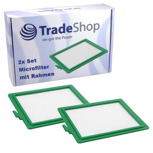 2x HEPA filtros de aire de salida a micro para AEG//Electrolux Accelerator AAC 6705-6758