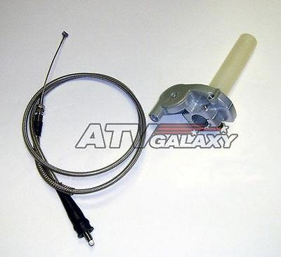 "Streamline Steel Braided 2/"" Clutch Cable Kawasaki KFX450R KFX450 All Years"