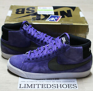 info for fe107 8cdcc Image is loading NIKE-BLAZER-PREMIUM-SB-SNAKESKIN-PURPLE-BLACK-314070-