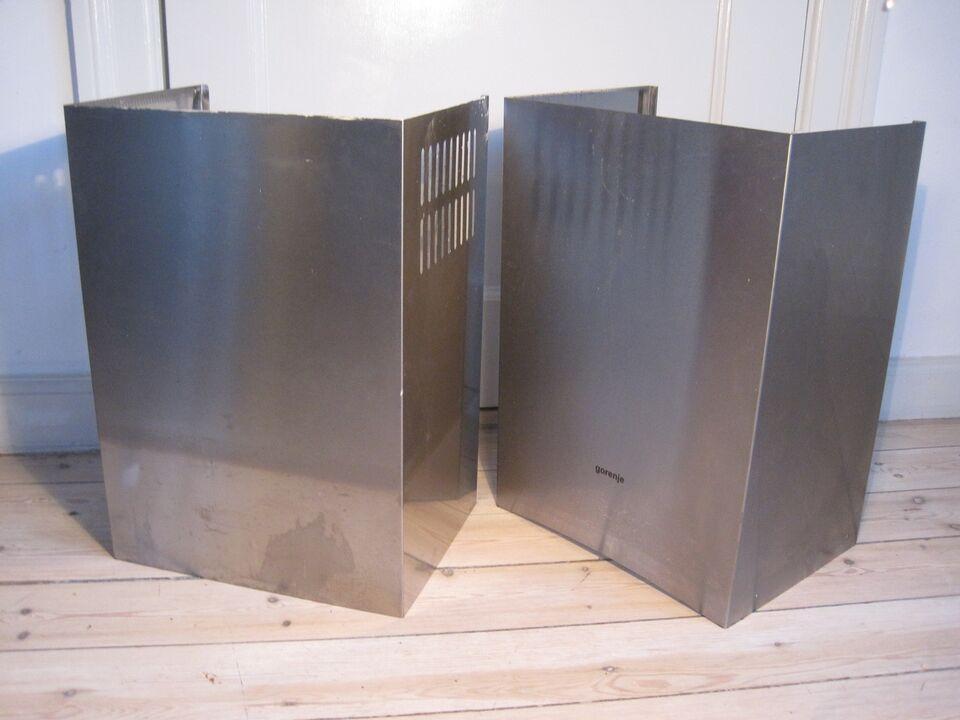 Emfang, Gorenje børstet stål, b: 35 d: 25 h: 48