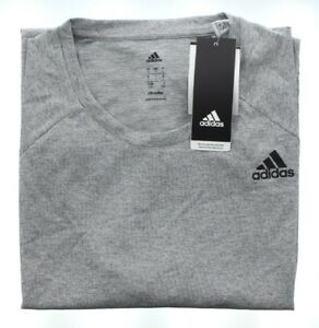 Adidas-Men-039-s-Designed-2-Move-Training-Athletic-SS-Tee-T-Shirt-Gray-Heather-L