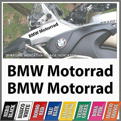 2x BMW Motorrad black 2006 ADESIVI PEGATINA STICKERS AUTOCOLLANT AUFKLEBER