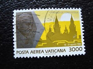 Vatican-Stamp-Yvert-and-Tellier-Air-N-90-Obl-A28-Stamp